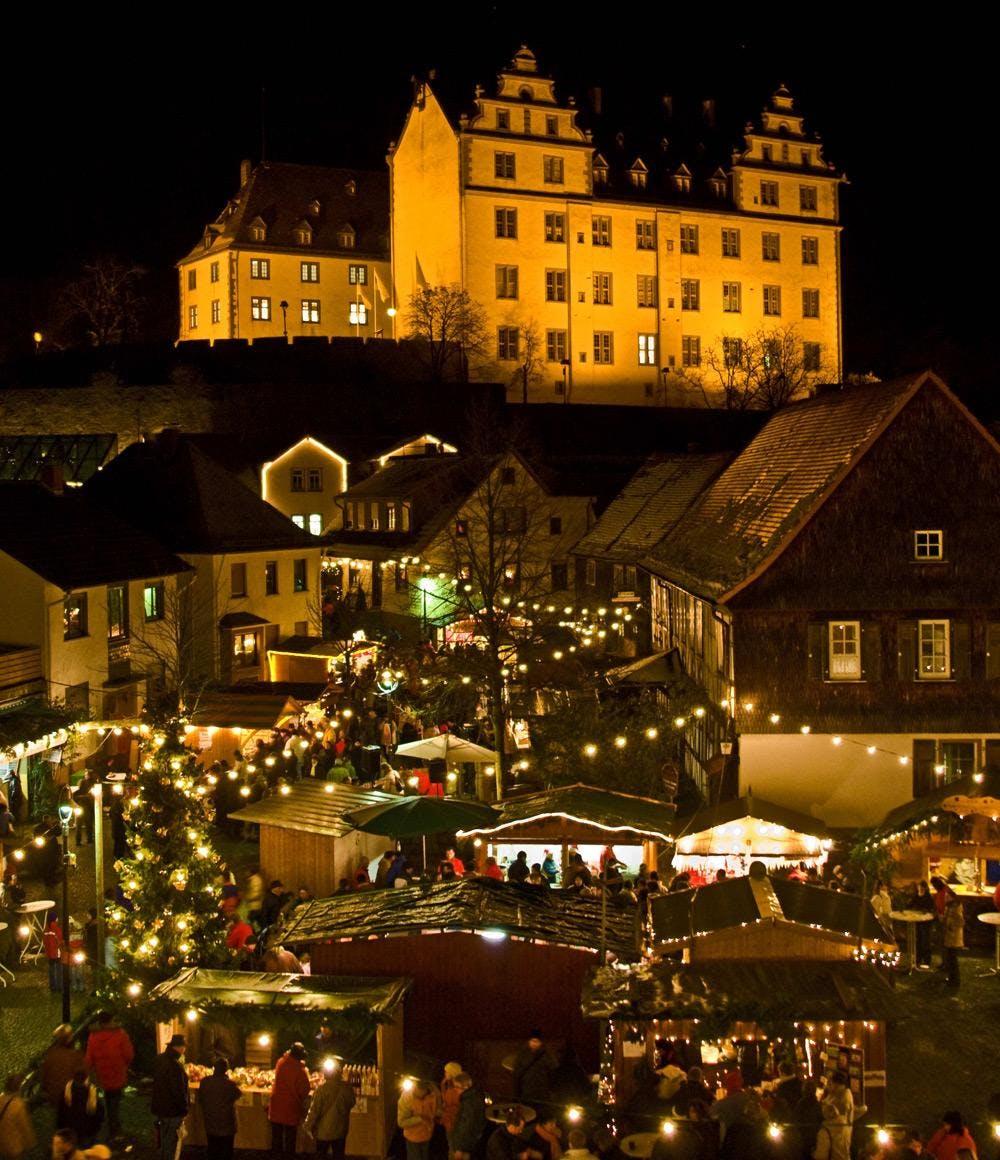 Weihnachtsmarkt Otzberg.Lichtenberger Adventsmarkt
